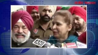 (वीडियो) : नवजोत सिंह सिद्धू का अमृतसर पहुंचने पर शानदार स्वागत