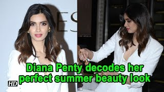 Diana Penty  decodes her perfect summer beauty look - BOLLYWOODCOUNTRY