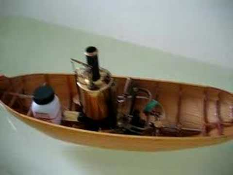 Model steamboat / model de remorcher cu abur - Test 2