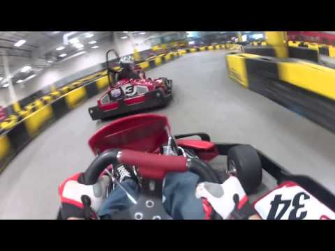 Kart racing at Pole Position Raceway