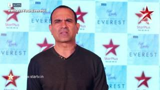 Manish Choudhary talks about his character Jagat Singh Rawat in EVEREST - STARPLUS