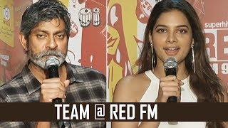 Patel Sir Movie Team @ Red FM | Jagapati Babu | Tanya Hope | TFPC - TFPC
