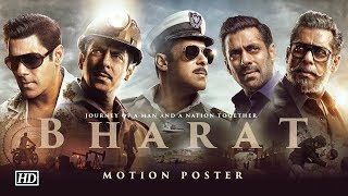 'BHARAT' Motion Poster | Salman's JOURNEY on EID - IANSLIVE