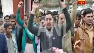 PoK residents protest against Pakistan's ceasefire violations, demand Azadi - ABPNEWSTV
