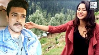 Ram Charan's FUNNY Video With Rakul Preet Singh | Dhruva  | Lehren Telugu - LEHRENTELUGU