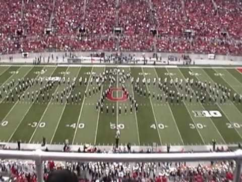 OHIO STATE MARCHING BAND TBDBITL MICHIGAN HALFTIME 11-24-2012