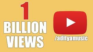 Aditya Music Celebrating 1Billion Views || Aditya Music || 1 Billion Views - ADITYAMUSIC