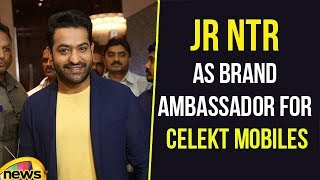 JR NTR Became Brand Ambassador For Celekt Mobiles,  Inauguration at ITC Kohenur | Mango News - MANGONEWS