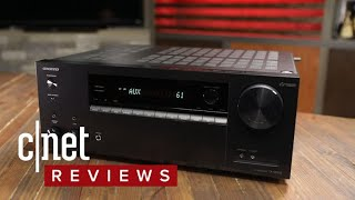 Onkyo's TX-NR575 does everything you want in a 2107 receiver - CNETTV