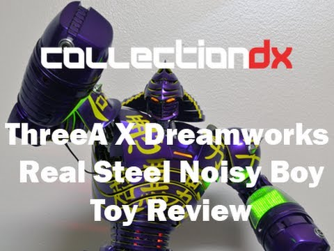 ThreeA X Dreamworks Real Steel Noisy Boy review - CollectionDX