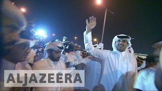 Thousands celebrate Sheikh Tamim homecoming in Qatar - ALJAZEERAENGLISH