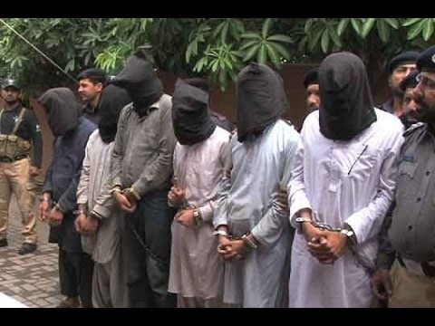 Dunya News - Lahore police arrests 6 target killers involved in sectarian, others killings