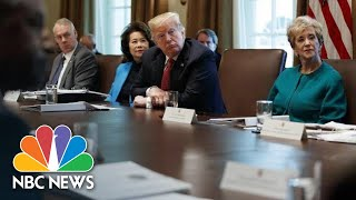 President Trump Asks Cabinet Secretaries To Cut 5 Percent Of Their Department Budgets | NBC News - NBCNEWS