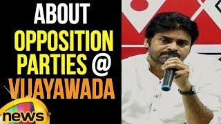 Pawan Kalyan about Opposition Parties at Vijayawada | Janasena Latest News | Mango News - MANGONEWS