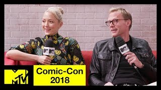 'Avengers: Infinity War' Cast on the Deaths & Avengers 4 | Comic-Con 2018 | MTV - MTV