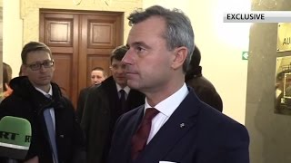 Anti-Russian sanctions not useful, have to end them – Austrian pres candidate Hofer (EXCLUSIVE) - RUSSIATODAY