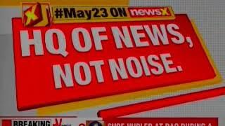Shoe Hurled at BJP Leader GVL Narsimha Rao during Press Brief - NEWSXLIVE