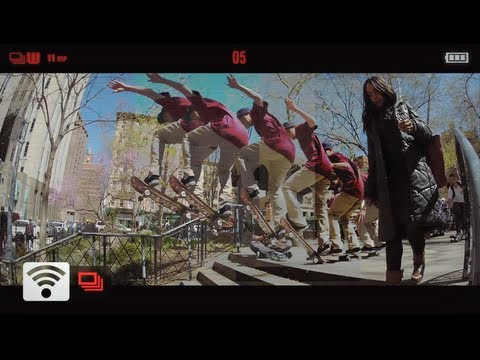 GoPro: New York City... A Day in the Life - Starring Skate Legend Ryan Sheckler 2012