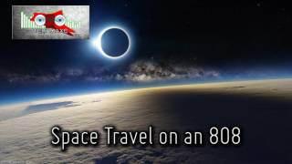 Royalty FreeBackground:Space Travel on an 808