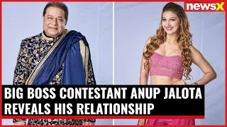 68 years old Bigg Boss contestent Anup Jalota open ups about his relationship with Jasleen Matharu - NEWSXLIVE