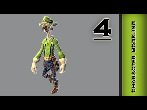 Autodesk Maya 2013 Tutorial - Character Modeling - Eyes Part 4