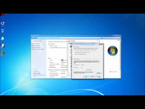 Optimize Windows 7 for SSD (Part 1) Disable or Move Page file and Disable system restore