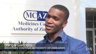 Medical Drugs Hit Zimbabwe's Black Market - VOAVIDEO