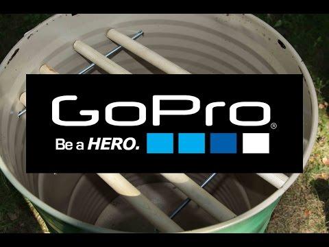 Wędzarnia z beczki - budowa. :) GoPro H3BE Najbardziej odjechany tutorial w sieci !!!