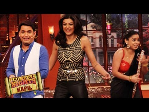 Sushmita Sen HOT & SEXY on Comedy Nights with Kapil 12th April 2014 FULL EPISODE