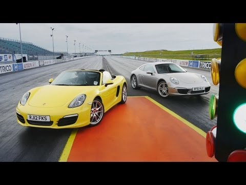Showdown - 2012 Porsche 911 Carrera (991) vs. 2013 Porsche Boxster S - CAR and DRIVER