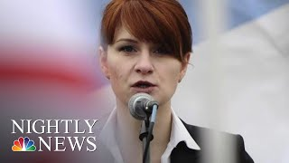 Russian Operative Maria Butina Pleads Guilty To Conspiracy | NBC Nightly News - NBCNEWS