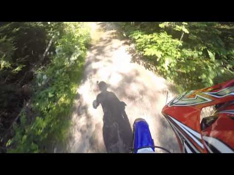 Dirt Bike Trail riding - TTR 230