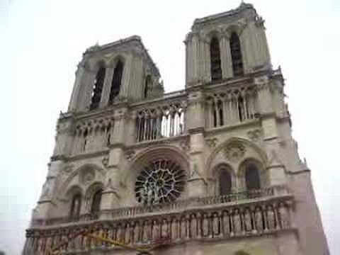 Bells of Notre Dame, Paris France