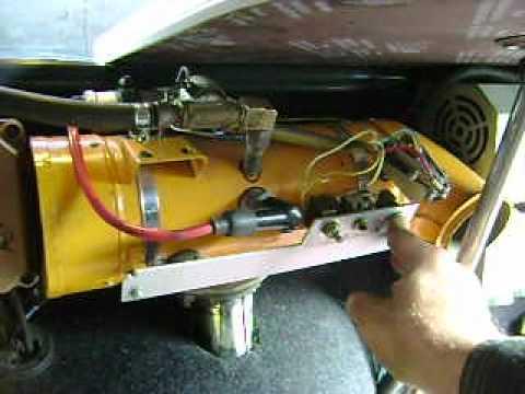 Переделка печки заз на газ
