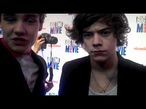 LIAM PAYNE, HARRY STYLES & NIALL HORAN from ONE DIRECTION Chat 2nd Album & SECRETS!