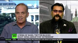 Twitter bans: 'Intentional blocking' v 'Division doesn't come from social media' (DEBATE) - RUSSIATODAY