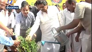 Minister KE Inaugurates Plantation Of Trees Program In Kurnool - ETV2INDIA