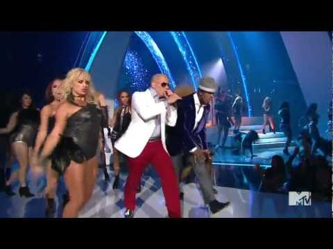 Pitbull Feat. Ne Yo & Nayer Give Me Everything MTV 2011 . Michael.N.G 
