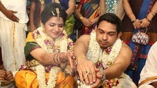 Vijay TV Anchor DD (Divyadarshini) Wedding Srikanth | Marriage Reception Video