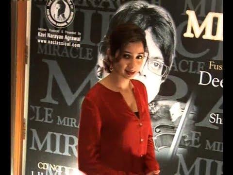 Shreya Ghoshal At Deepak Pandit's Album Launch