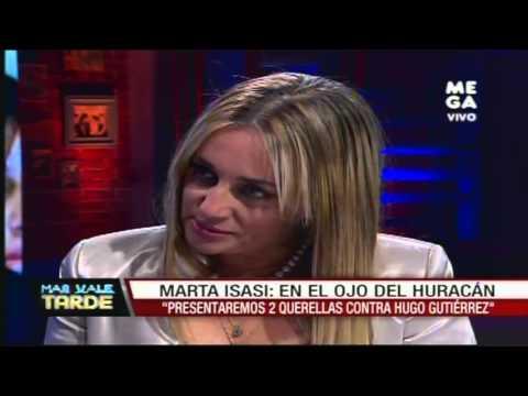 Diputada Marta Isasi habla de las querellas que realizará contra Hugo Gutiérrez