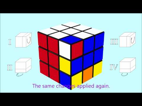 How to solve the Rubik's Cube: 8 - flip corners