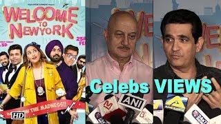"Celebs REVIEW   ""Welcome to New York""  Karan Johar  in 3D - IANSINDIA"