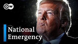US States fight back Trump's national emergency plans | DW News - DEUTSCHEWELLEENGLISH