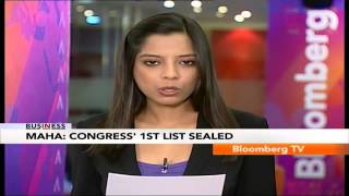 In Business- Maharashtra: Congress Candidates List Ready! - BLOOMBERGUTV