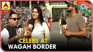 72nd Independence Day: Music composer Kailash Kher and Cricketer Suresh Raina witness the - ABPNEWSTV