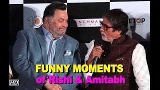 FUNNY MOMENTS of Rishi & Amitabh | 102 Not Out | Badumbaaa launch - IANSLIVE