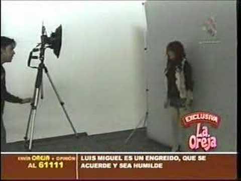 Dulce Maria en sesion de fotos para Revista Seventeen