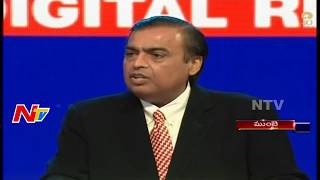Mukesh Ambani Speech @ 40th Annual General Meeting of Reliance || NTV - NTVTELUGUHD
