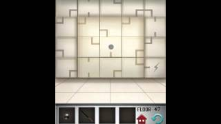 100 floors level 47 floor 47 solution game walkthrough for 100 floors 17th floor answer